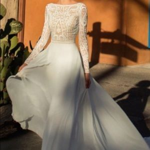 Flora Melanie wedding dress,Desert 2019 Collection